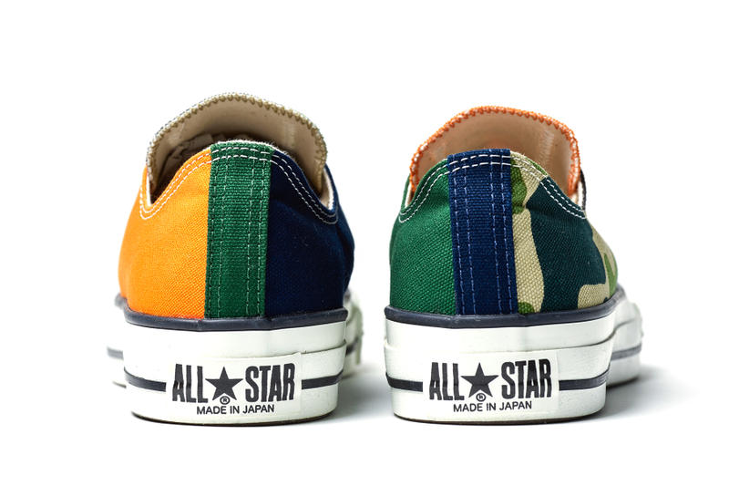 Converse x BILLY'S ENT All Star J Details Cop Purchase Buy Available New Shoes Trainers Kicks Sneakers Green Blue Orange White