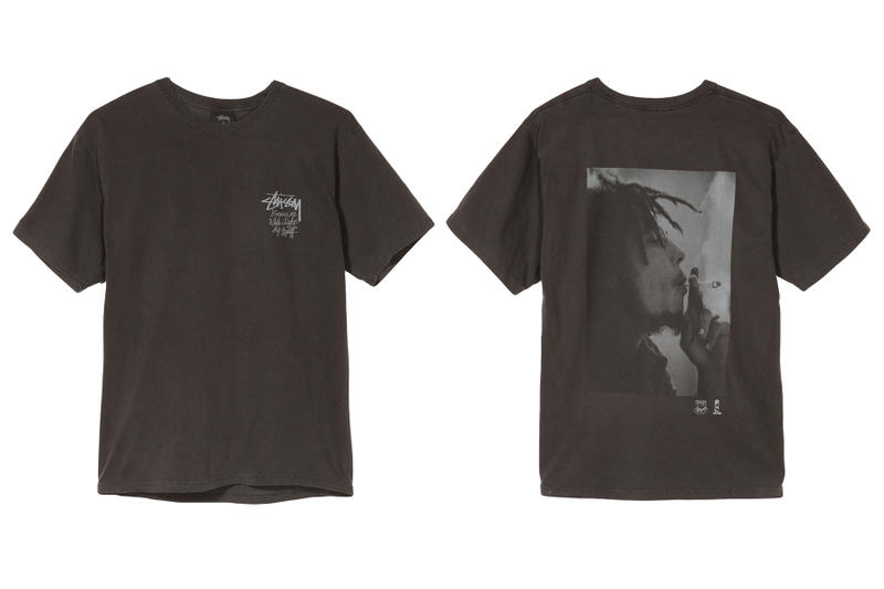 Bob Marley Stussy Collab Spring Summer 2018 Reggae Bob Marley & The Wailers graphic tee shirt july 6 2018 drop release date info