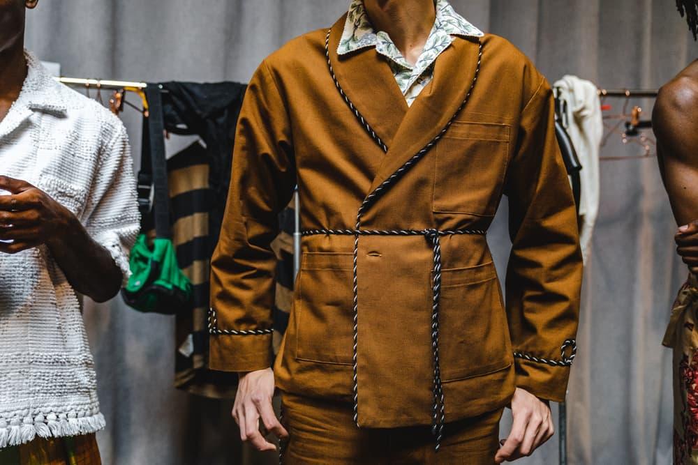 bode spring summer 2019 collection new york fashion week mens presentation runway emily debut handmade