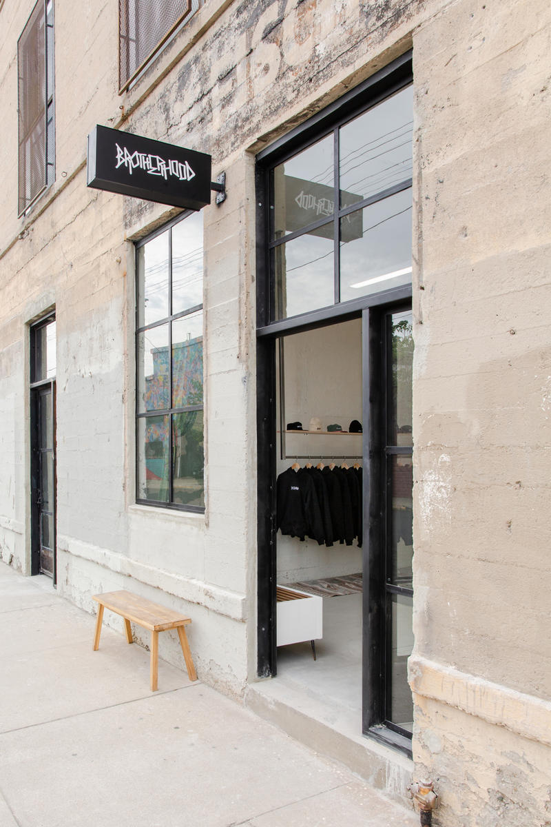 Brotherhood concept store shop flagship location los angeles open la art district