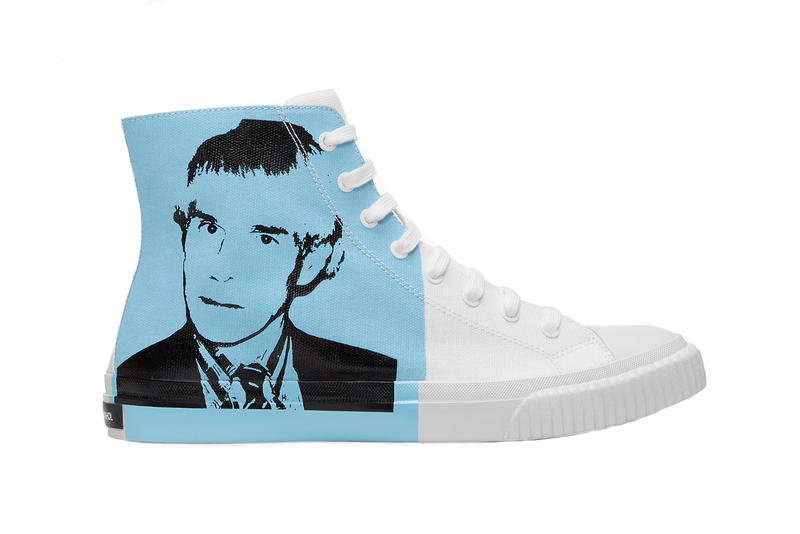 Calvin Klein Andy Warhol Portrait Canvas Sneakers Pre-Order Art drop release date info buy july 18 2018 available web store
