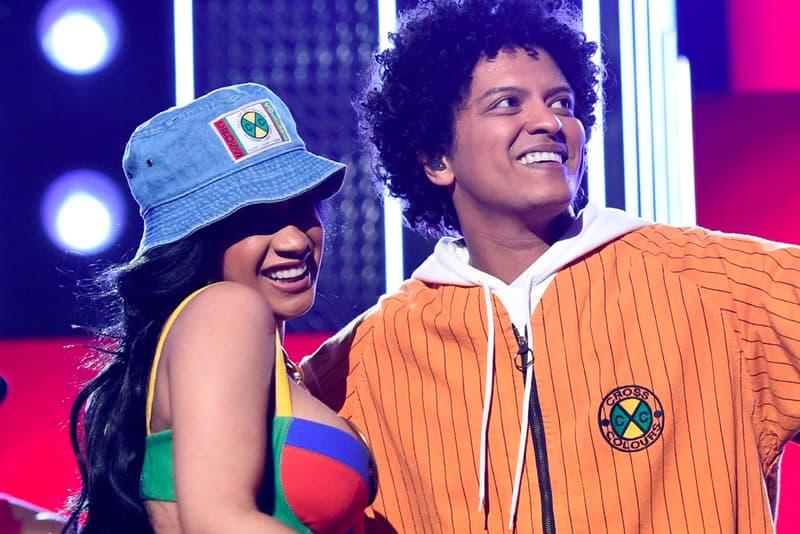 Cardi B Bruno Mars 24K Magic World Tour