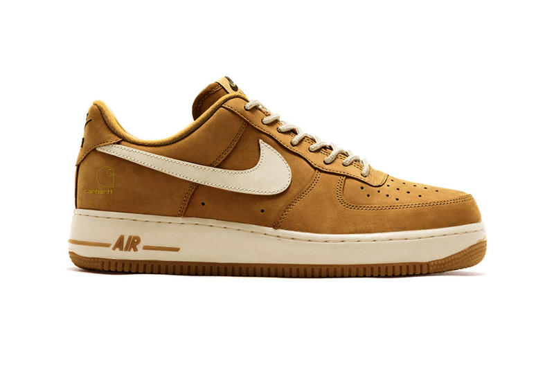 Carhartt WIP Nike Air Force 1 Collab Rumor utility low prm camo Ale Brown Sail total Orange