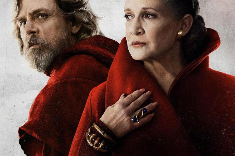 Carrie Fisher, Mark Hamill Appears in Star Wars IX Luke Skywalker Leia Organa Princess Leia