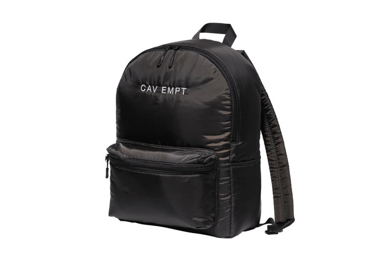 Cav Empt Fall Winter 2018 release info shirts jackets sweaters belts bags socks