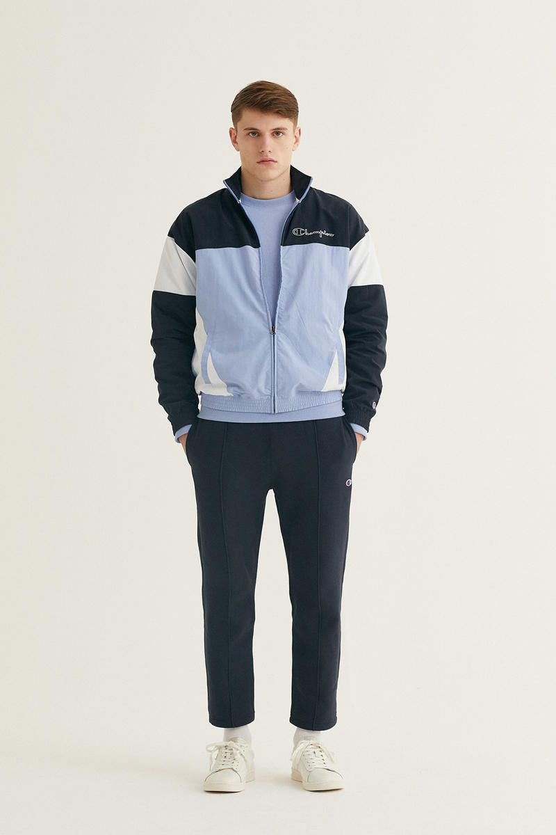 Champion Fall/Winter 2018 Collection First Look Fashion Cop Purchase Buy Soon Jackets Tracksuit Bottoms Half-Zips T-Shirts Hoodies Trousers