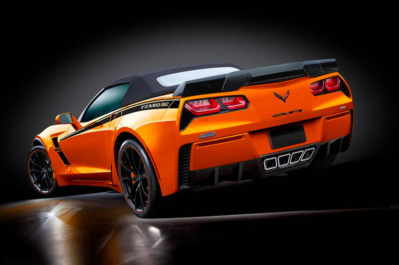 Chevrolet 1,000-Horsepower 2019 Corvette Grand Sport Specialty Vehicle Engineering Yenko/SC Stage II package