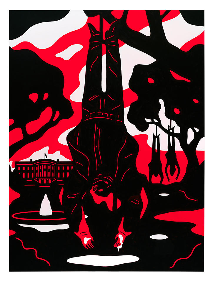 "Cleon Peterson ""Blood and Soil"" Exhibition"