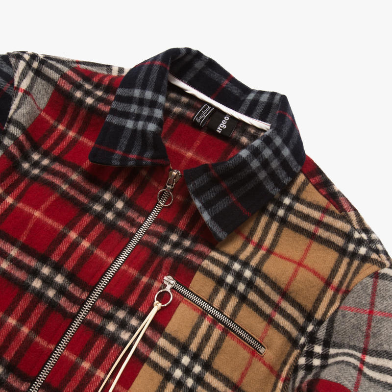 clothsurgeon Burberry Scarves Jacket Reconstruct Project