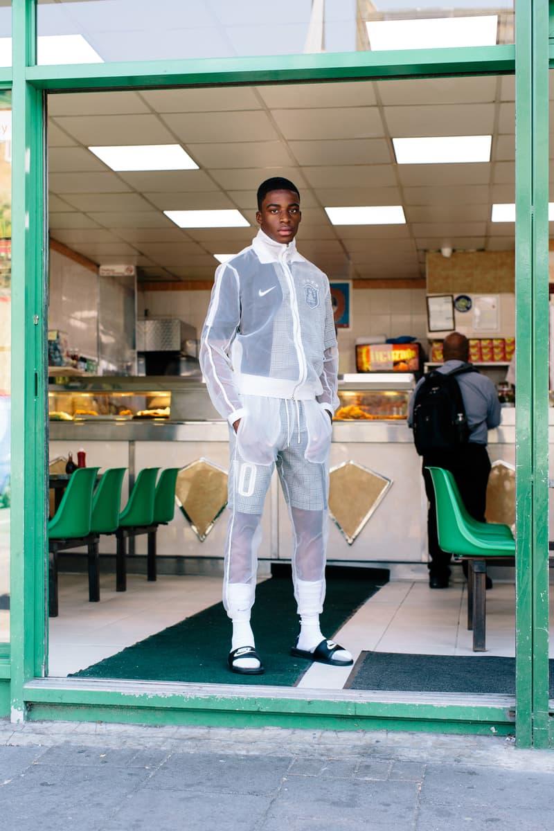 clothsurgeon past present fc football soccer jersey kit patchwork remake rebuild july 6 2018 world cup nike jersey shorts plaid check prince of wales set jacket Rav Matharu leeds united