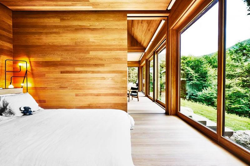 Sarah Andelman Catskills New York Cabin Home colette architecture usa holiday house cottage architectural digest