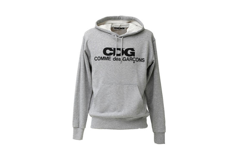 COMME des GARÇONS CDG sublabel brand drop july 20 2018 collection poncho striped shirt hoodie quilted jacket bag logo japan shibuya osaka