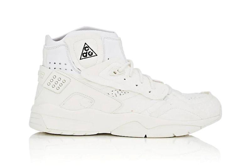 online retailer b7e2f 5f192 The COMME des GARÇONS x Nike ACG Mowabb Is Rel.