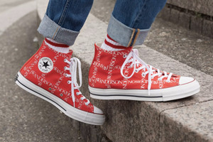 "A Closer Look at the JW Anderson x Converse Chuck Taylor All-Star 70 in ""Scarlet"""