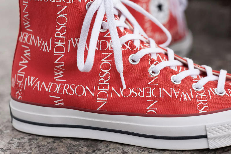 4a4284be9c5eb6 Converse x J.W. Anderson Chuck Taylor 70s Scarlet White Closer Look Release  Details Buy Cop