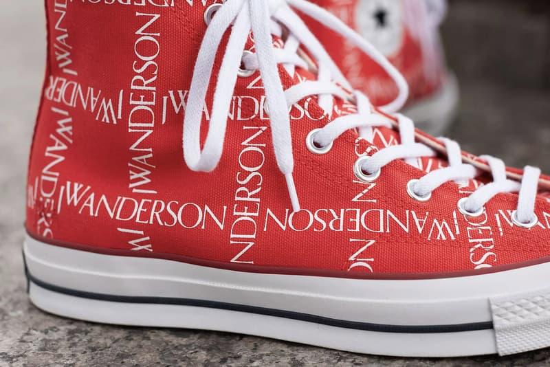 720d9e13969e Converse x J.W. Anderson Chuck Taylor 70s Scarlet White Closer Look Release  Details Buy Cop
