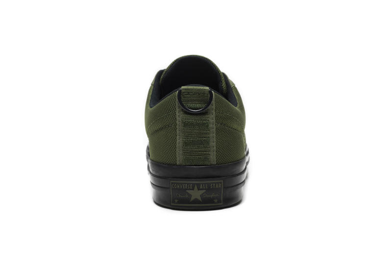 carhartt wip converse one star collaboration september 6 2018 green black