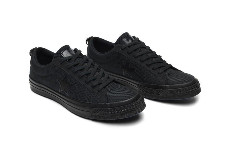 carhartt wip converse one star collaboration september 6 2018 all black
