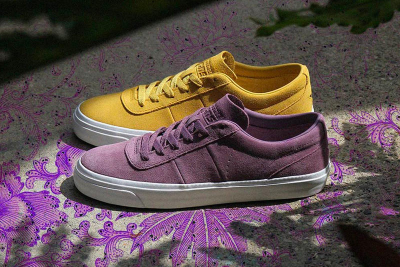 1e32f47ddb8f9b Converse One Star CC Pro Ox Release price sneaker light purple mustard  yellow