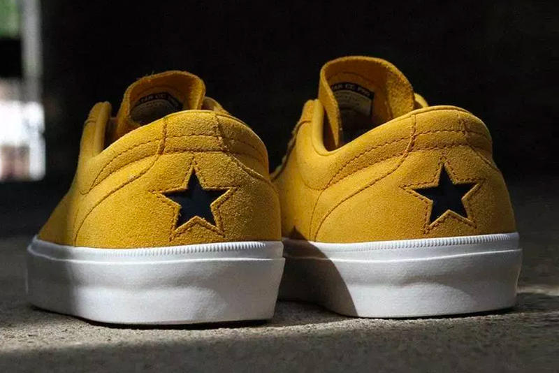 Converse One Star CC Pro Ox Release price sneaker light purple mustard yellow