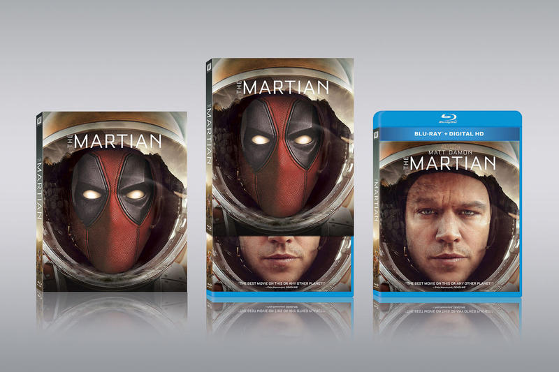 Deadpool Photobomb Fox Blu-Ray Covers Alien The Martian The Devil Wears Prada 127 Hours The Day After Tomorrow City Slickers 20th Century Fox release date august 7 21