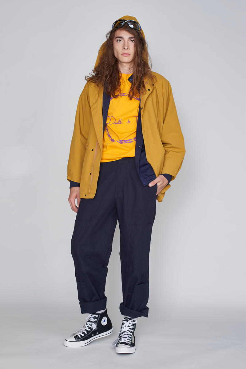 Death to Tennis spring summer 2019 collection new york fashion week mens lookbook backstage