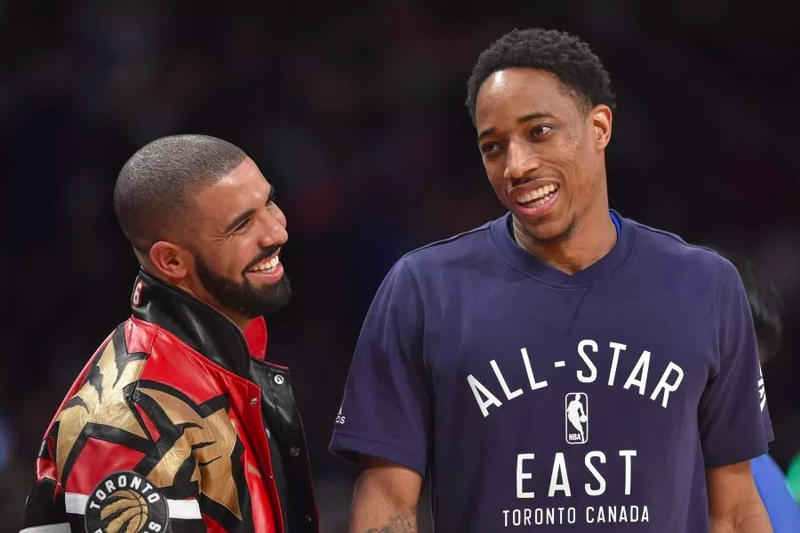 drake demar derozan thank you message toronto raptors