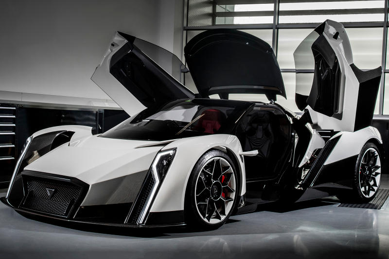 Dendrobium D-1 Electric Hypercar For Sale Cop Purchase Buy Available Now Supercar Car Automotive Speed Geneva Motor Show Salon Privé