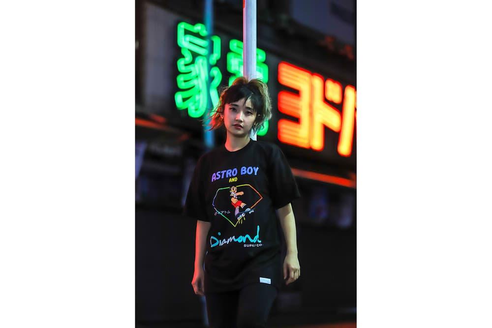Diamond Supply Co. Astro Boy Collection release date clothing hoodies hats Osamu Tezuka tokyo Japan hats skateboarding skate decks