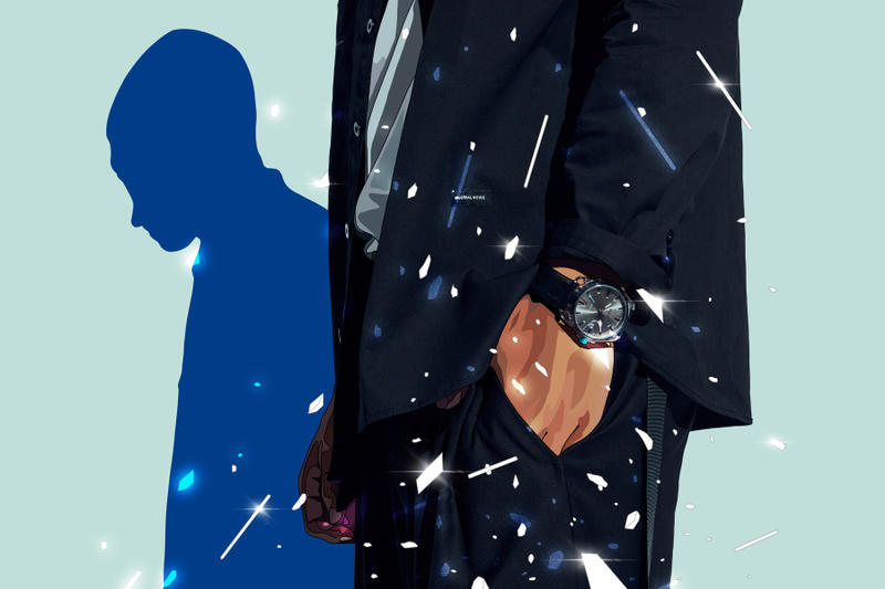 Diesel Mad Dog Jones Transparency Blue Lookbook jeans denim indigo blue clear watches timepieces chronograph Mega Chief DZ4487 MS9 DZ1868