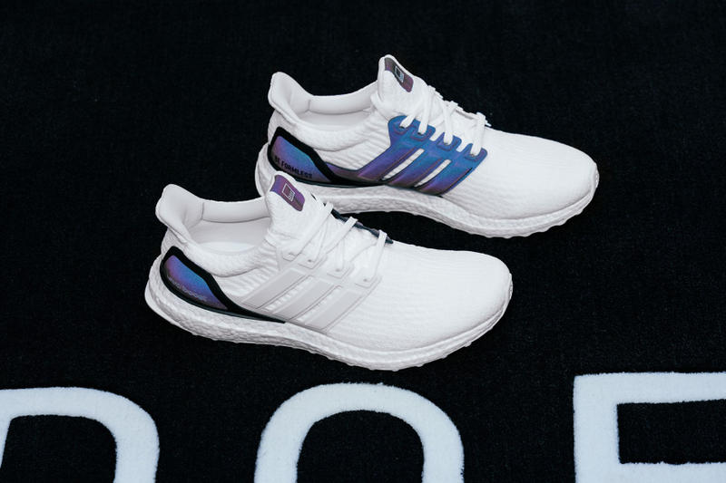 DOE adidas UltraBOOST XENO Shoes Apparel Collection Kicks Trainers Sneakers Footwear White Black Colorway Longsleeve T-Shirts Jackets 3-Stripes Cop Purchase Buy Available Soon shanghai july 28 2018 drop release date info buy purchase track suit