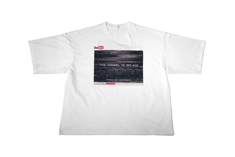 Doublet Wism collaboration collection july 14 drop release date tee shirt youtube exclusive before after heat sensitive shirt limited fall winter