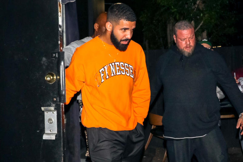 Where To Buy Drakes Finesse Crewneck Sweatshirt Hypebeast