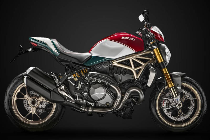 Ducati 25th Anniversary Monster Limited Edition Bike