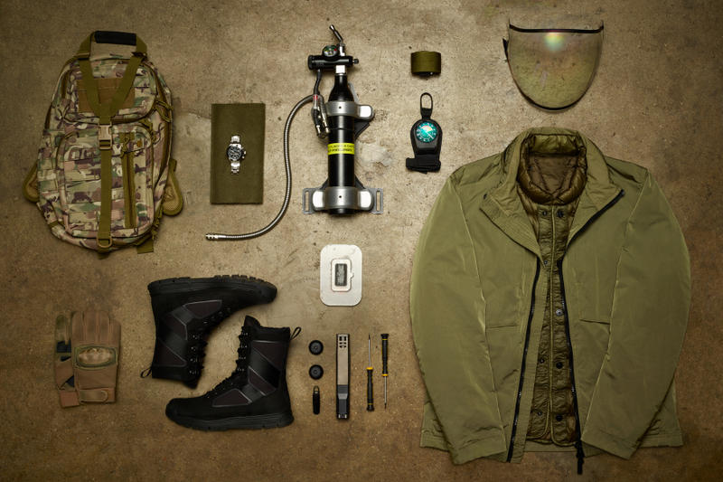 Mission: Impossible - Fallout Movie Essentials henry cavill August Walker spy halo visor camo backpack face scanner skydiving army green black compass