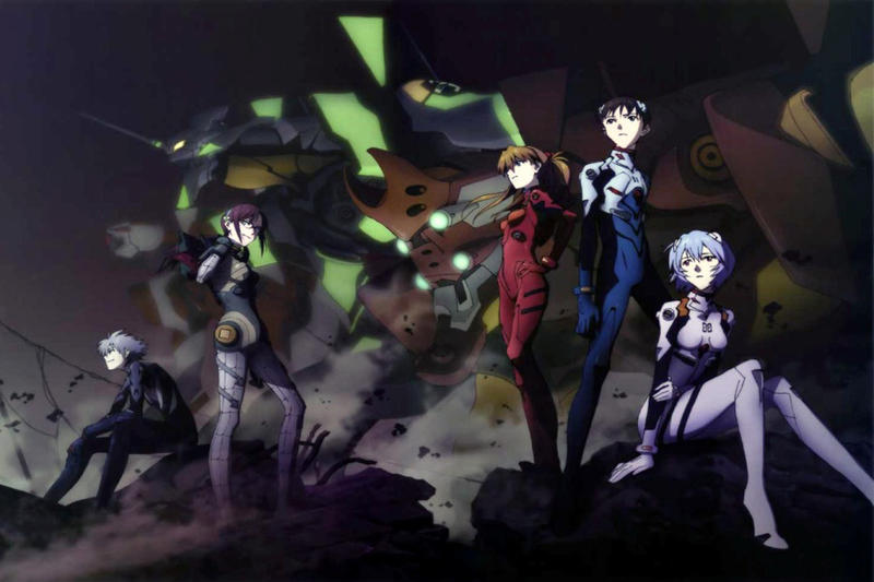Image result for Evangelion rebuild