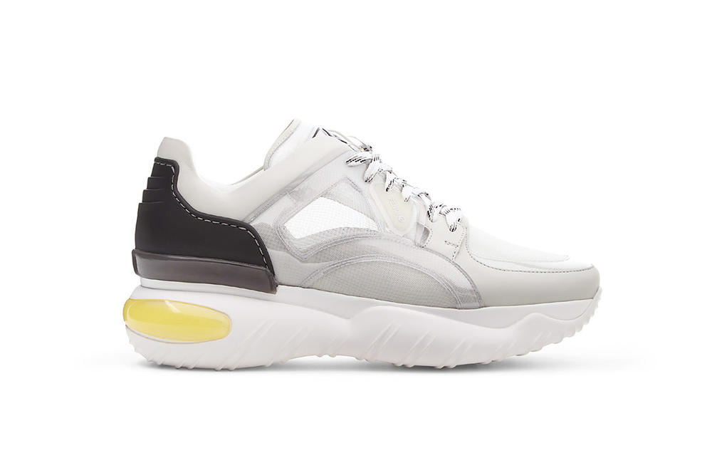 Fendi chunky sneaker preorder white 2018 october footwear