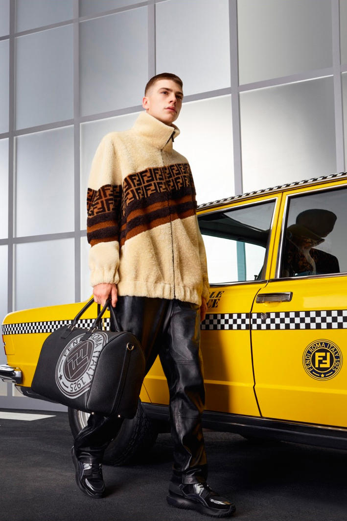 Fendi Fall winter 2018 collection campaign imagery advertisement