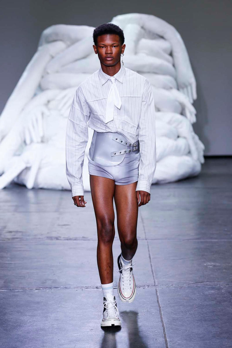 Feng Chen Wang Spring/Summer 2019 Collection NYFW Mens Runway
