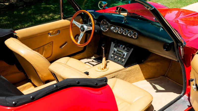 Ferris Bueller 1985 Modena GT Spyder California