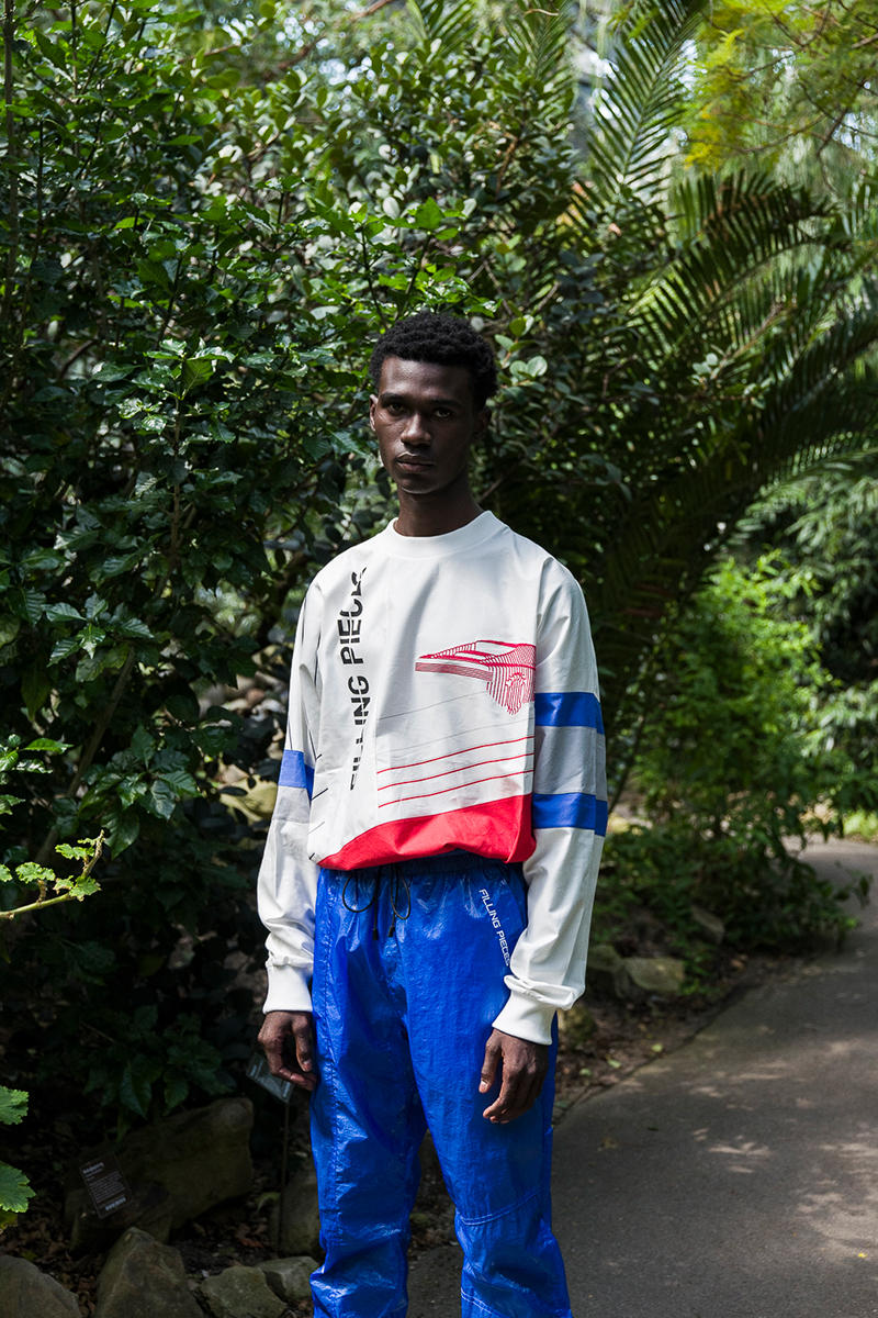 Filling Pieces Pre-Fall Fall Winter 2018 Collection Lookbook ready to wear clothing Low Curve Iceman Trimix White sneaker trekking