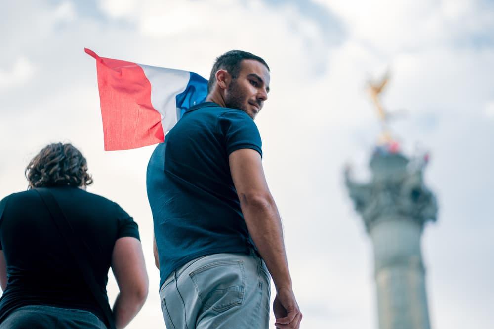 France FIFA World Cup 2018 Celebration Recap Football Fans Street Party Kylian Mbappe Champs Elysee