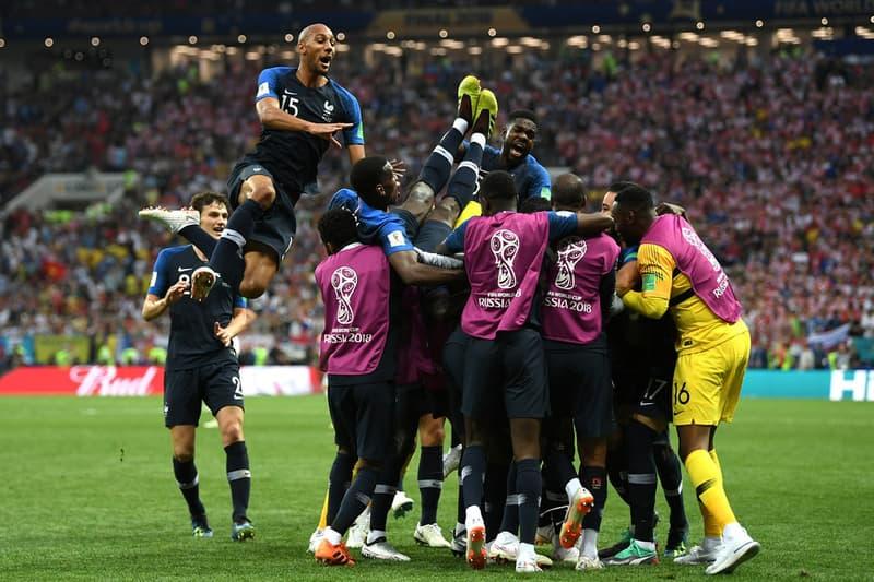 France Wins FIFA World Cup 2018 vs Croatia 4-2