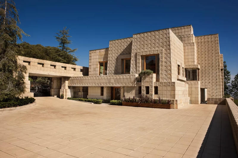 Frank Lloyd Wright House Los Angeles: Frank Lloyd Wright Bladerunner Ennis House