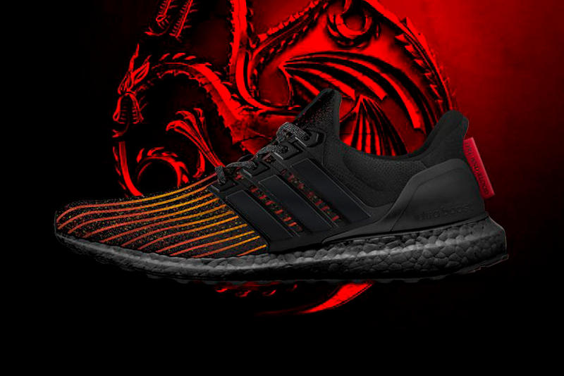 game of thrones adidas ultraboost house targaryen