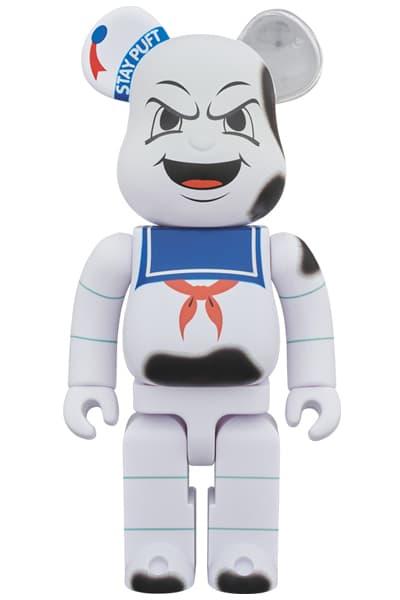 Garfield Stay Puft Marshmallow Man Medicom Toy BEARBRICK