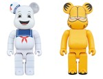 Garfield and Stay Puft Arrive in Medicom Toy BE@RBRICKs