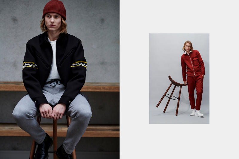 GEYM Fall/Winter 2018 collection Lookbook streetwear purchase price menswear fashion
