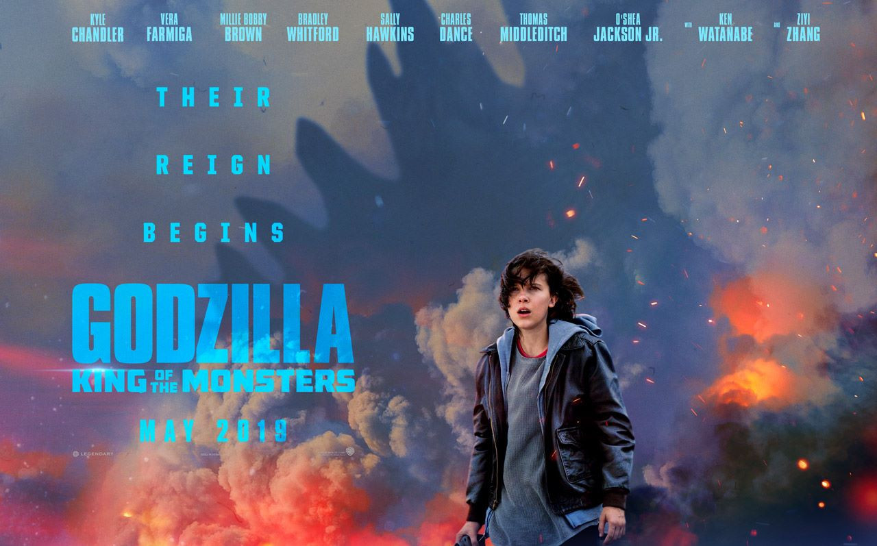Godzilla: King of the Monsters Comic Con Clip Millie Bobby Brown