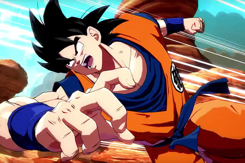 Goku Vegeta Base Forms Dragon Ball FighterZ Trailer Video Game Bandai Namco Release DLC Gameplay Specials